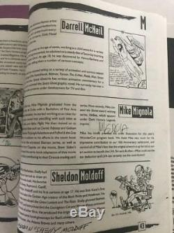 1996 WonderCon 10 Program Signed by Mignola Dick Ayers Will Eisner & Lots MORE