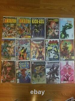 30 Comic Book Lot Lots of Number#1, Variants, U will receive everything pictured