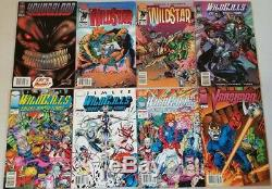 40+ IMAGE NEWSTAND BARCODE VARIANT COMICS LOT WILDCATS 1 2 3 SPAWN & LOTS more