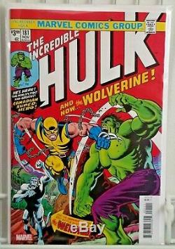 (50) FIFTY -Incredible Hulk181-Facsimile Edition -SOLD OUT! Investor Lots ONLY