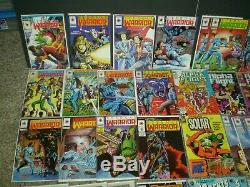 (85) Adventure Type Comic Books With Lots Of Different Characters
