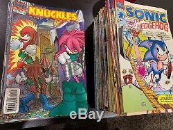 ARCHIE COMICS SONIC THE HEDGEHOG Mixed Comic Lot (#0-75) And More