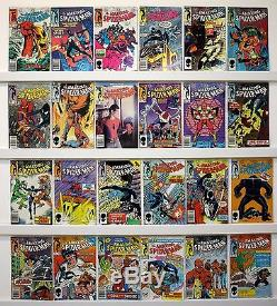 Amazing Spider-Man Lot of 44 comics Issue # 251 to 297 Most VF or better