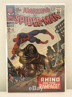 Amazing Spider-Man Silver Age Lot 41-59, fill in your collection