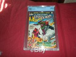 Amazing Spider-man #122 CBCS not CGC 7.0 comic! DEATH OF GREEN GOBLIN! Lots keys
