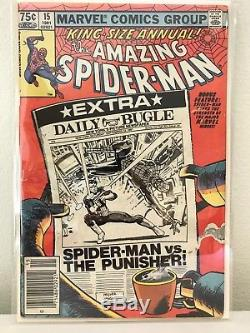 Amazing Spiderman silver age comics lot the Annuals fill in your collection