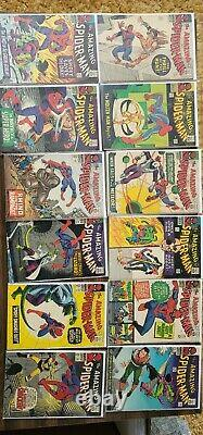 Amazing spider-man collection 18-153 #129#124#121#135#100#75#66#50#43#39#33 and+