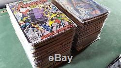 Avengers #193-402 Complete 17 Year Run HUGE Lot 196 220 223 239 257 316 bagged