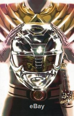 BOOM! Mexico MIGHTY MORPHIN POWER RANGERS #0 ARMORED RED WHITE GREEN Variant