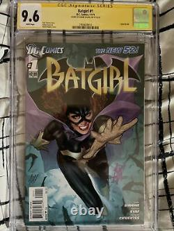 Batgirl #1 The New 52 SS CGC 9.6! Signed by Adam Hughes LOTS MORE SS Listed
