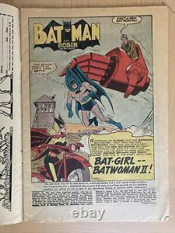 Batman #163 May 1964 Batgirl And Classic Joker Silver Age App Lots Of Pictures