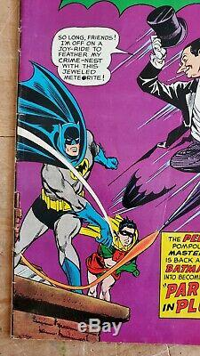 Batman #169 FN/VF (Q) 2nd Silver Age Appearance of Penguin! Lots of Pictures
