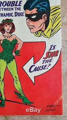 Batman #181 FN/VF 1st Poison Ivy! Pinup intact and attached! Lots of Photos! HTF