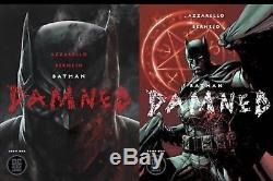 Batman Damned #1 Lot 30 COPIES First Print NM+ Sold Out! Uncensored DC