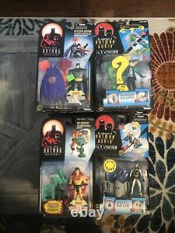 Batman The Animated Series Lot Of 40 Action Figures New
