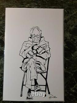 Bernie's Mittens Comic #1 Sketch Variant Only 50 Printed Lots Of Pics