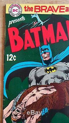 Brave and the Bold #84 VF/NM Neal Adams Batman Lots of Photos Free Shipping