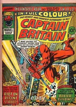 Captain Britain 1-39 8 1st Psylocke and more