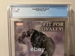 Captain Marvel The End #1 CGC 9.8 RARE Lots of 1st Appearances HTF in high grade