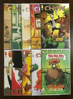 Chew Full Series Run #1-60 All First Print plus lots of extras