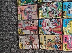 Classics Illustrated Vintage Comics! Lots of first editions! See des. For issues