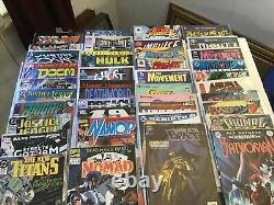 Comic book collection lot of 140 plus all wrapped in plastic lots of great comic