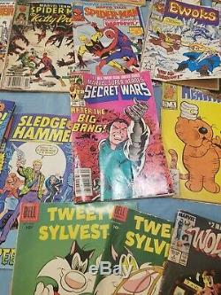 Comic book lot Lots of Spider Man from the 80s, some books for the 70s and 60s