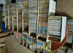 Comic book lot Over 5000 Lot of DC, MARVEL & INDEPENDENT Comics Investor Lot