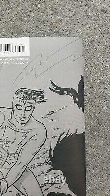 Crossover #4 Allred 1100 Sketch Virgin Incentive Variant Lots of Pics NM