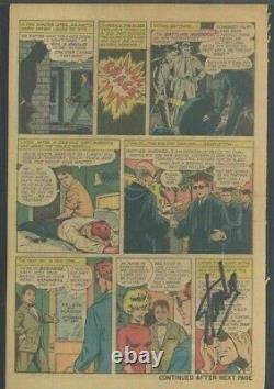DAREDEVIL 1 CGC NG SS Signed STAN LEE Single page with lots going on