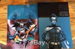 DC Absolute Edition Lot. Batman And Robin, Top 10, and Green Lantern Rebirth