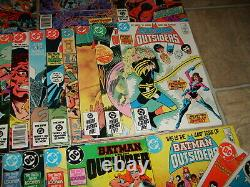DC BATMAN AND THE OUTSIDERS RUN 1983 & 2007 Comic Lots 1-40 & 1-32 Annuals