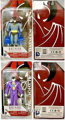 DC Collectibles Batman the Animated Series Action Figure LOT & Blu-ray Set Funko