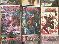DEADPOOL (2016) Huge 33 Issue Lot- Includes Lots of Variants and Keys