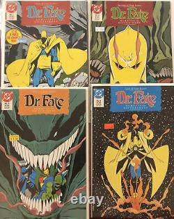 DR. FATE LOT (DC 1987) Including #1 Annual And 1-2-3-4 Plus Lots More