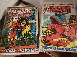 Daredevil (Marvel) Lot Complete Series Set with#s 1-512, Clean, CGC Graded #1