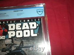 Deadpool #55 marvel 2001 CBCS 9.8 comic! PUNISHER COVER! WHITE PAGES! Lots keys