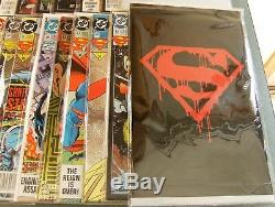 Death and Return of Superman complete comic lot set Doomsday story 44 books NM