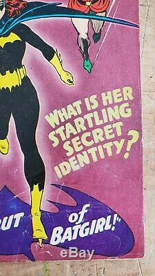 Detective Comics #359 VG 1st Appearance of Batgirl Silver Age Key Lots of Photos