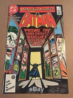 Detective Comics #566 Rogues Gallery High Grade! Lots More Books Up For Sale