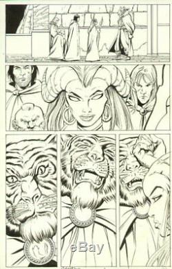 Dungeons & Dragons # p. 14 Lots of Characters Signed art by Vicente Alcazar