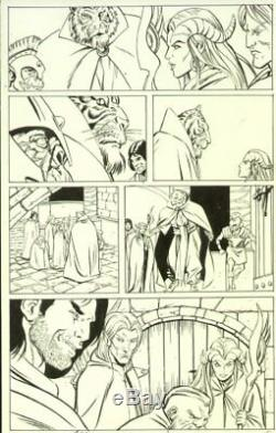 Dungeons & Dragons # p. 17 Lots of Characters Signed art by Vicente Alcazar