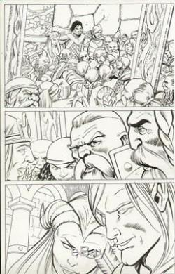Dungeons & Dragons # p. (4) Lots of Characters Signed art by Vicente Alcazar