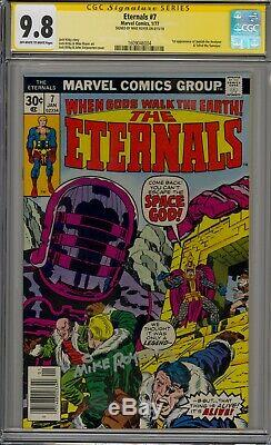 Eternals 7 CGC 9.8 SS Mike Royer lots 1st celestial appearances Jack Kirby