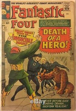 Fantastic Four #32 FR K-LOTS