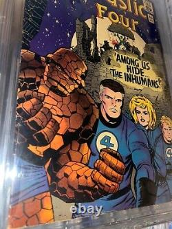Fantastic Four #45 CBCB 6.0 First Appearance of THE INHUMANS! Lots of photos