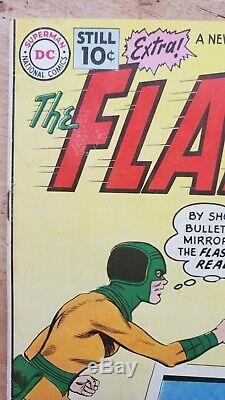 Flash #119 Looks VF! Mirror Master! 1961! Lots of Photos! Free Shipping