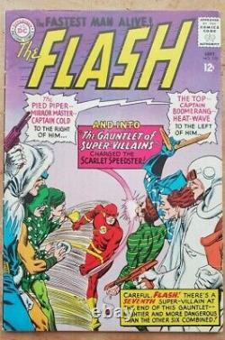 Flash #155 VF- 1st Appearance Rogues Gallery Lots of Photos! Free Shipping