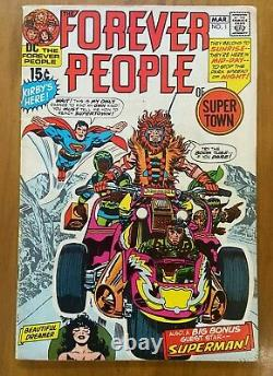Forever People 1 2 3 4 5 6 7 8 9 10 11 Full Set Jack King Kirby Bronze Age