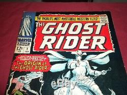 Ghost Rider #1 marvel 1967 silver age 5.5/6.0 comic! Lots of keys up! See store